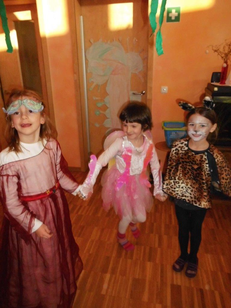 Fasching 2015 Waldorfkindergarten Nesthakchen